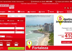 """Americanas Viagens lança campanha """"5 destinos imperdíveis"""""""