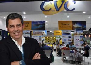 CVC cresce em reservas; agentes de viagens superam lojas no 1T15
