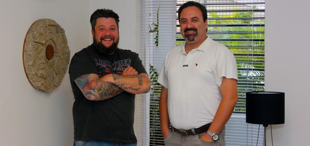 "Luciano Palumbo e Claudio Schapochnik, o ""Schapo"""
