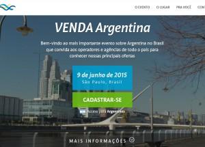 Venda Argentina chama atenção para novo site
