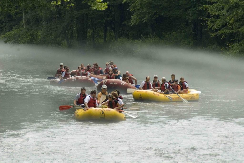 Rafting na Carolina do Norte - (Divulgação)