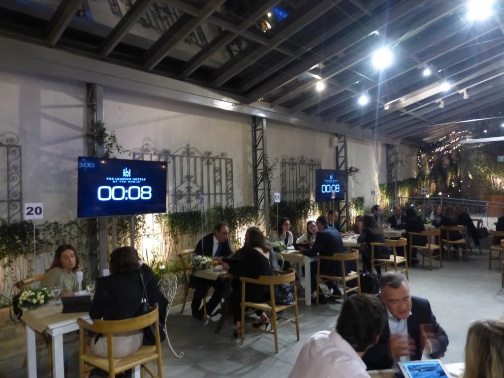 O Leading Rendez Vous, em São Paulo: encontros de quatro minutos entre hoteleiros e agentes de viagens