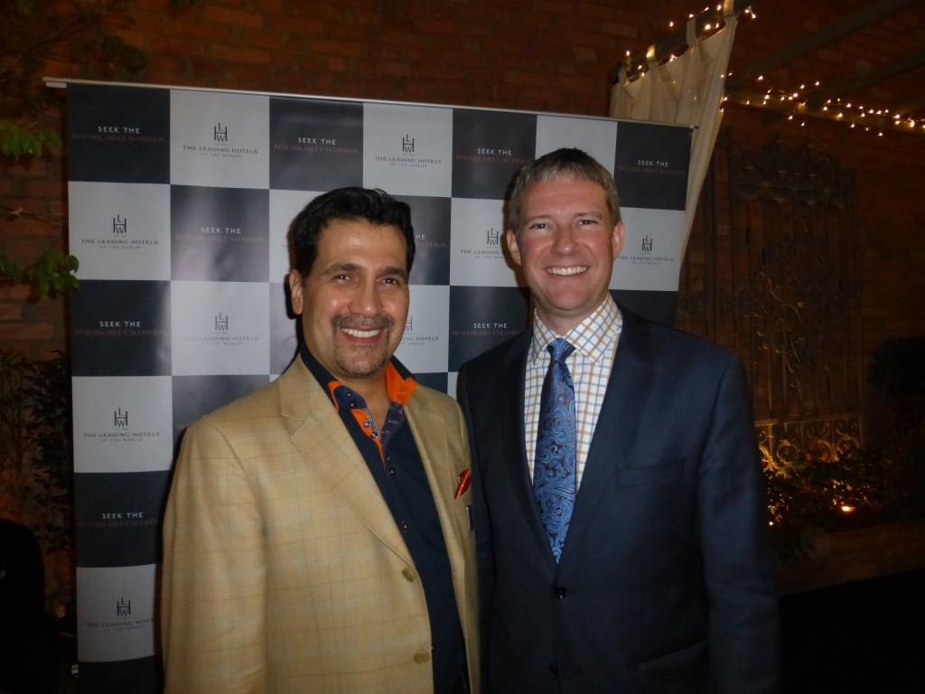 O CEO da Leading Brasil, João Annibale, e o vice-presidente para Américas da empresa, Chris Walker