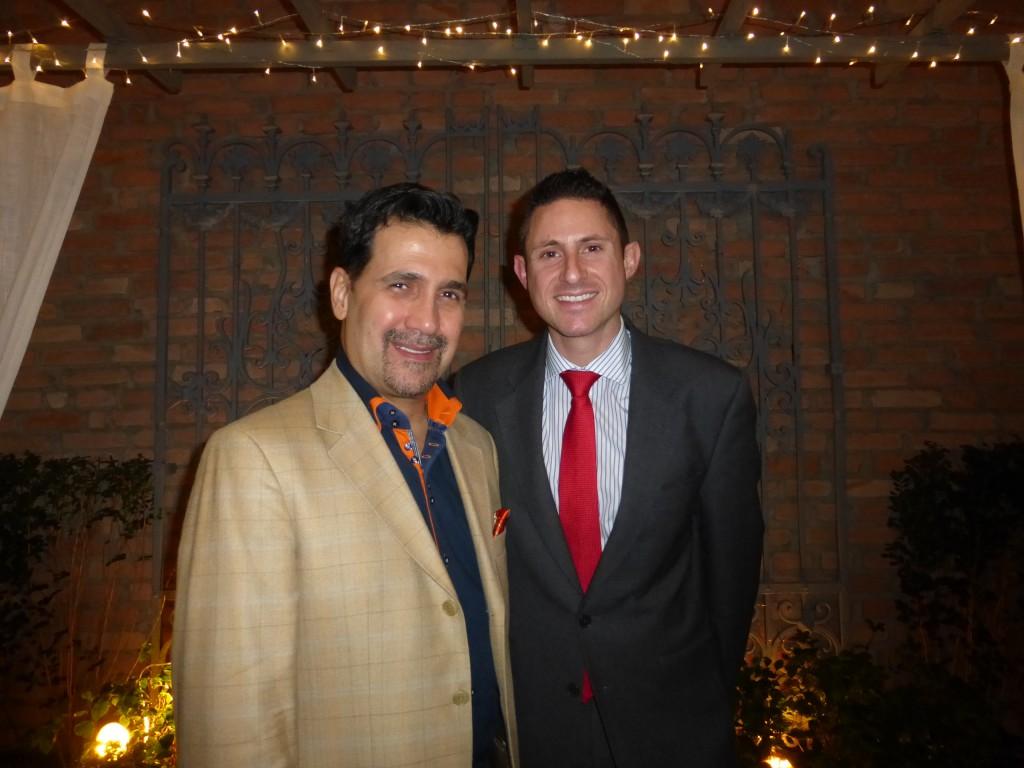 Annibale e o diretor de Vendas da Leading Brasil, Nicholas Davis
