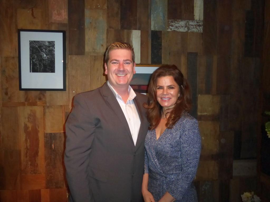 Johan Du Toit e Cristina Romero-Peri, dos hotéis One & Only