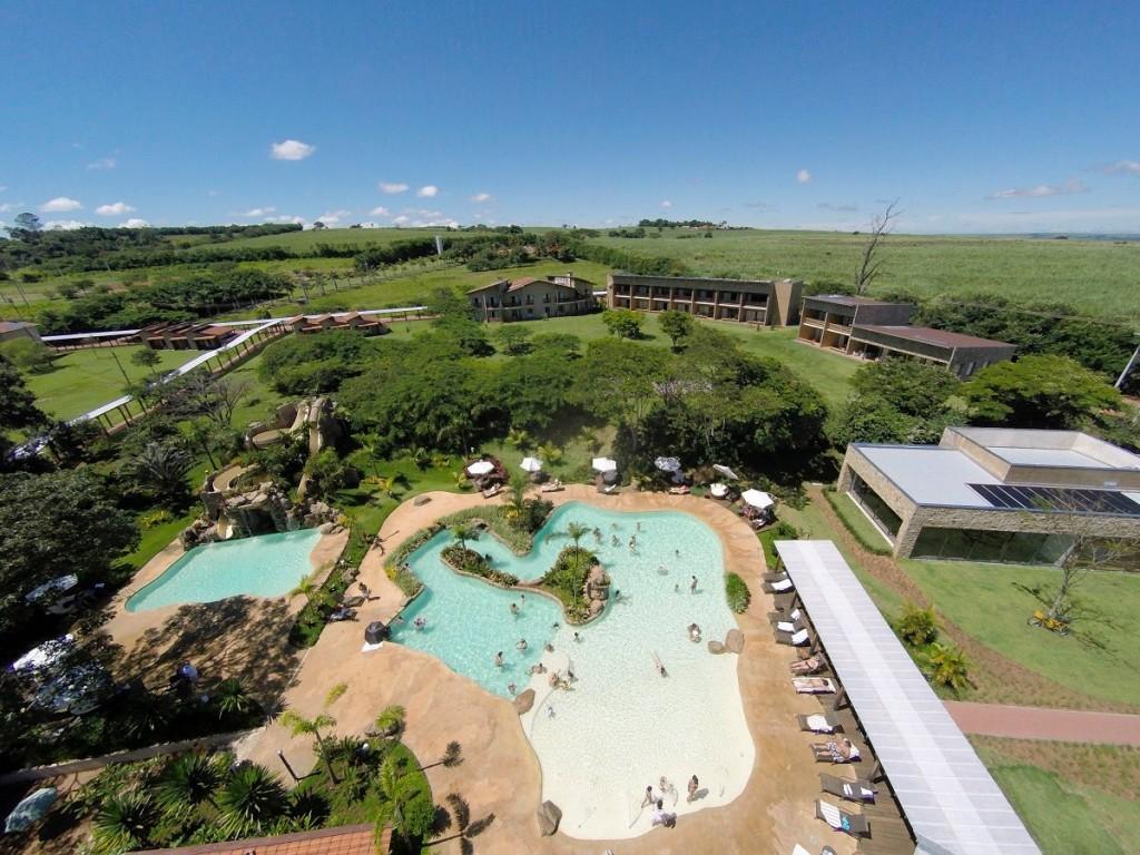 Vista aérea da propriedade (foto divulgação/Santa Clara Eco Resort)