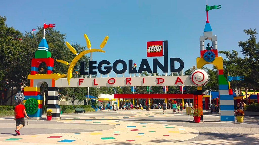Entrada do Legoland Florida