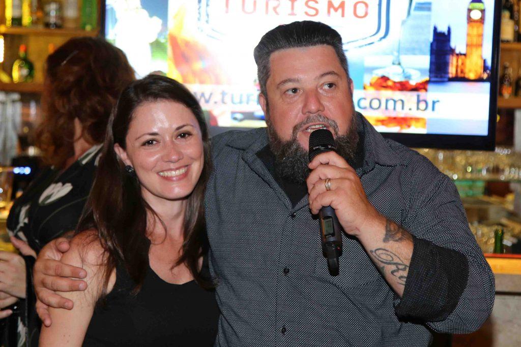 Palumbo e Cristina, da Rede Bourbon