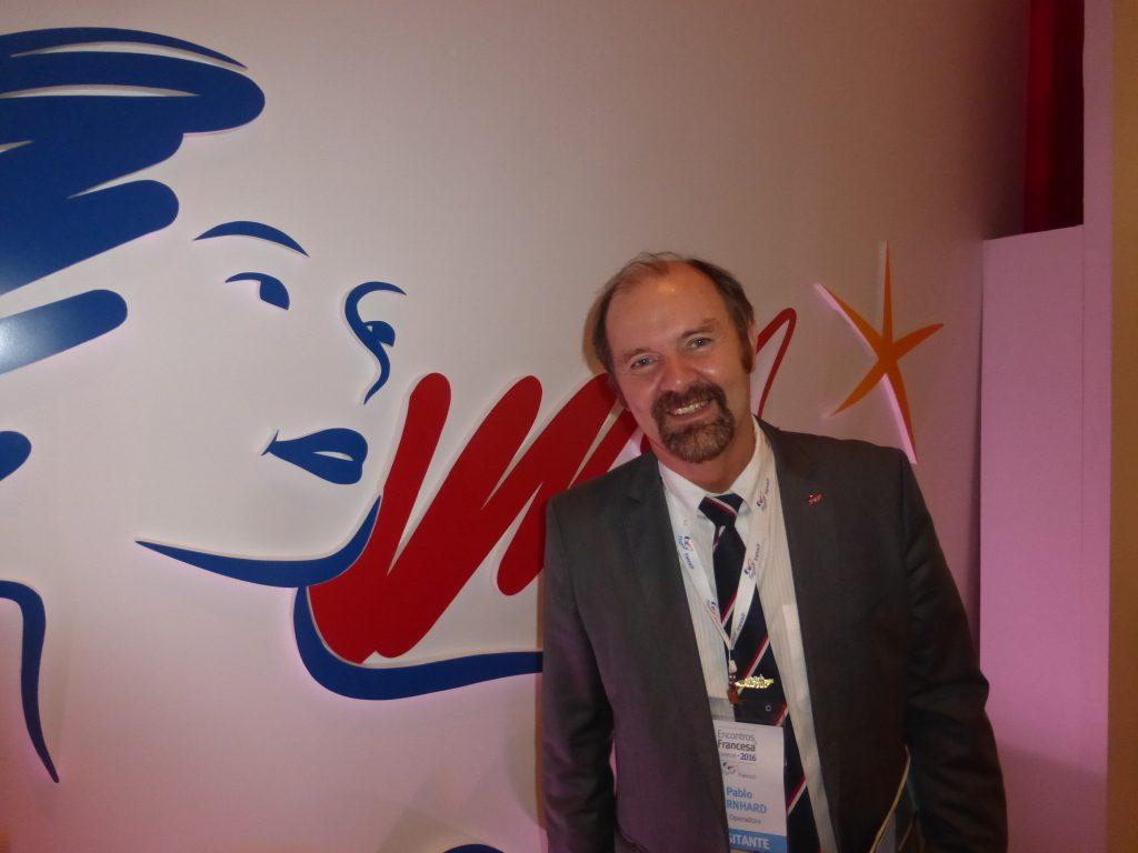 O CEO do Grupo TT Operadora, dona da Trains & Tours, Pablo Bernhard, no evento Encontros à Francesa