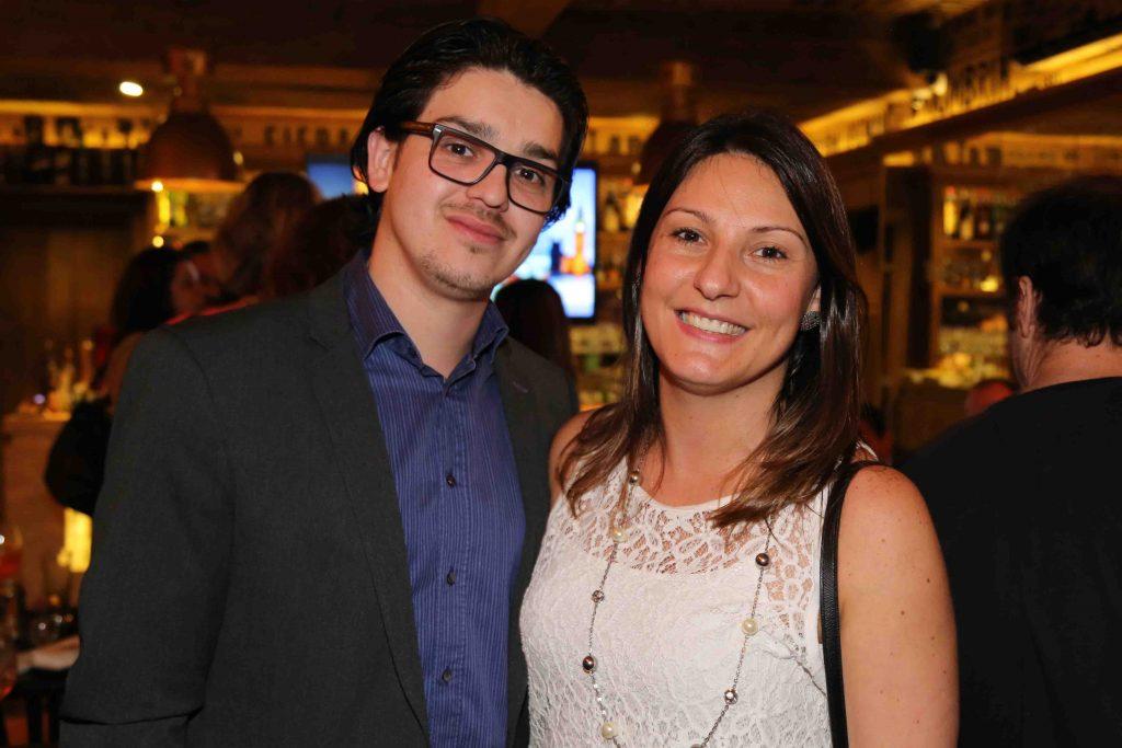 Victor Leopoldo, da CH Travel (EUA), e Dinah Policarpo, da Interamerican Network