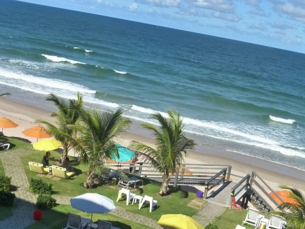 Praia de Porto de Galinhas a partir da vista do Kembali Hotel