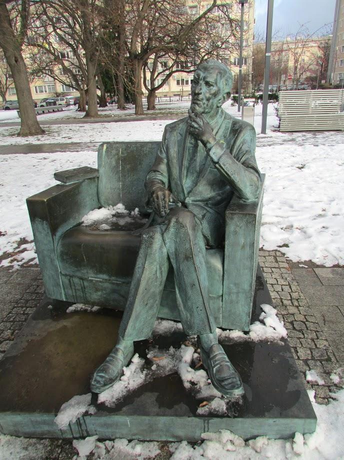 A estátua de Jan Karski