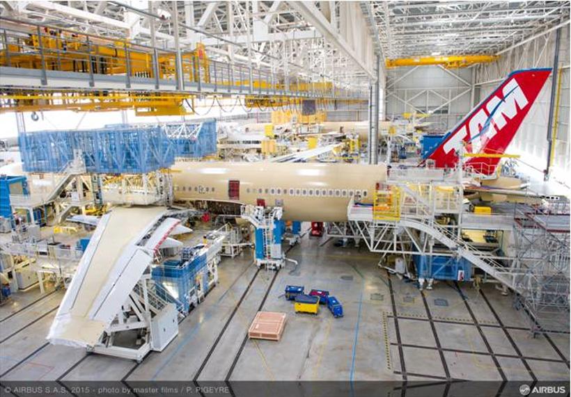 Novo Airbus da Tam - Foto: Divulgação