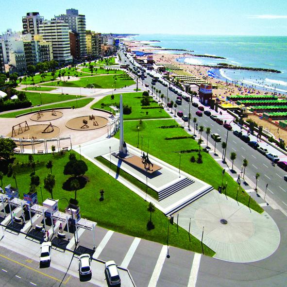 Plaza España - Mar del Plata