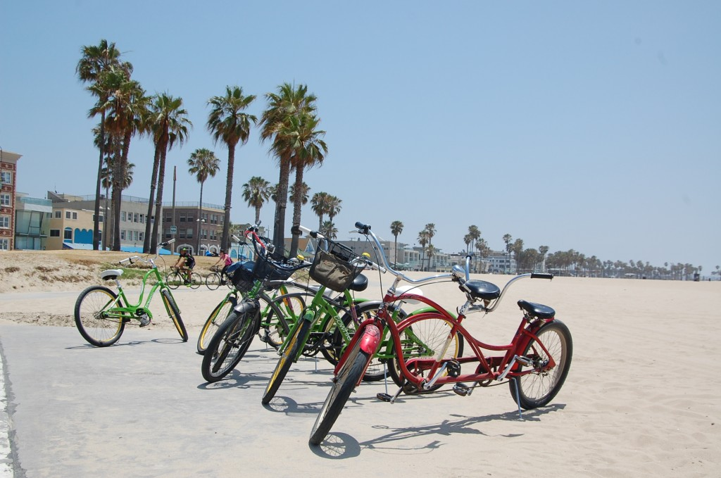 Bikes em Venice Beach