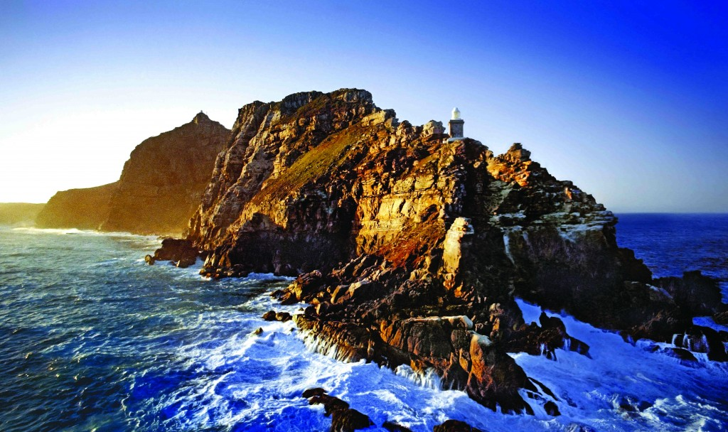 CTCAPPT01016 Cape Town. Cape Point. Aerial. At the Cape of Good Hope Nature Reserve. Early morning. RSA. ©Alain Proust/iAfrika Photos