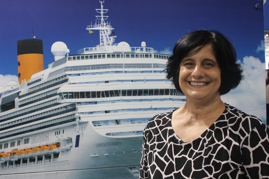 Marcia Galvão, gerente de Vendas e Marketing da Costa Cruzeiros