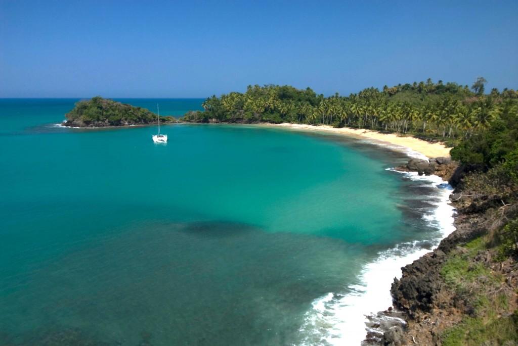 Baia de Samaná, na República Dominicana (Divulgação)