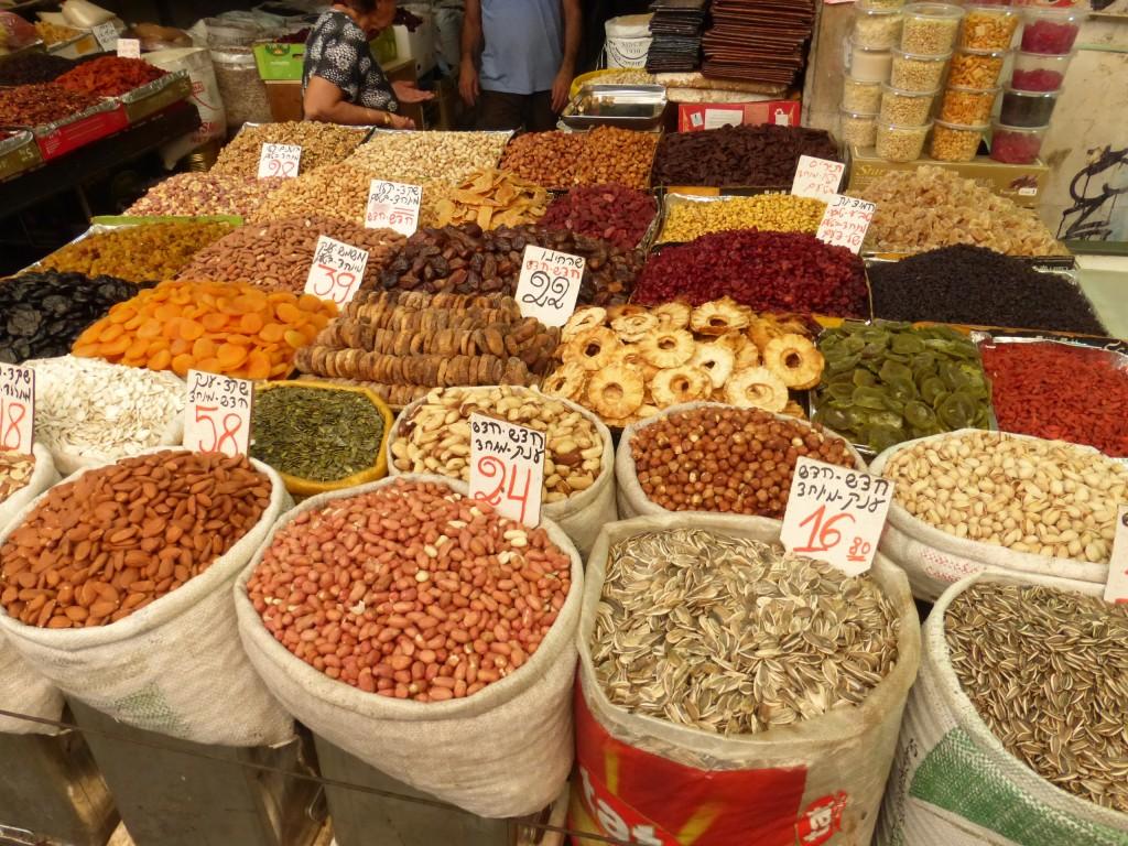 Sementes, amêndoas e frutas secas