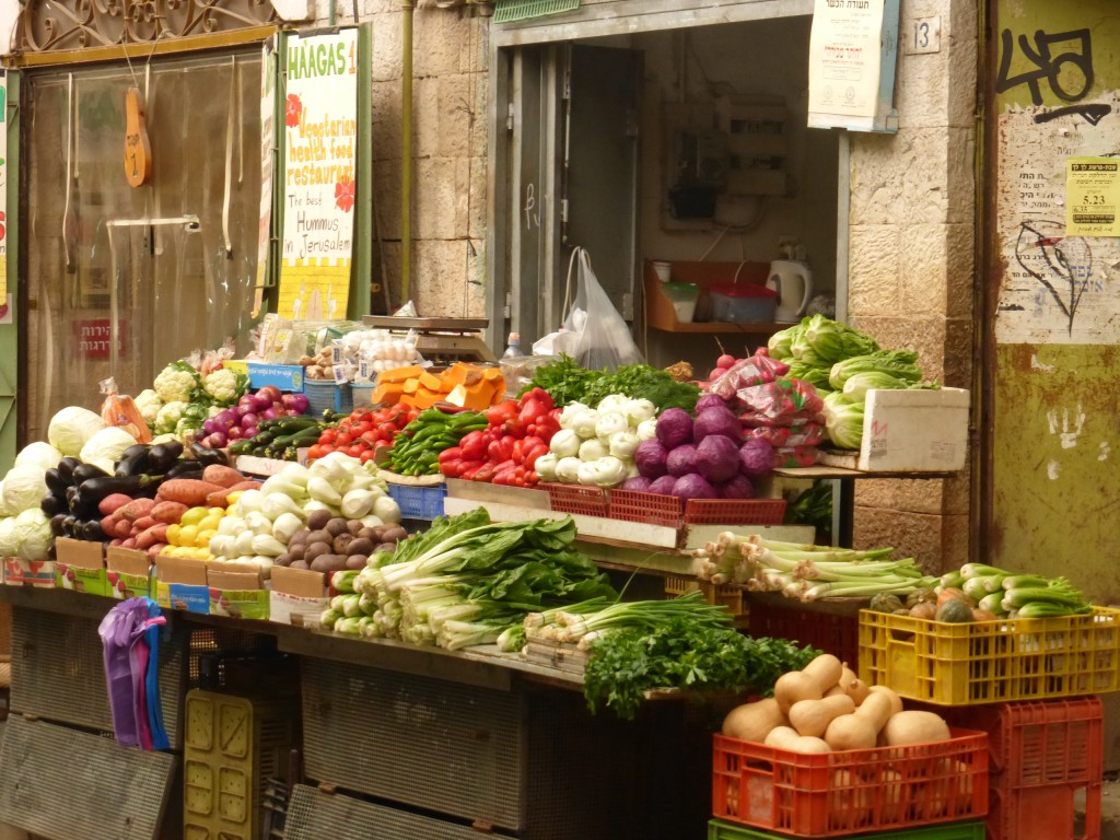 Mercado Machane Yehuda: