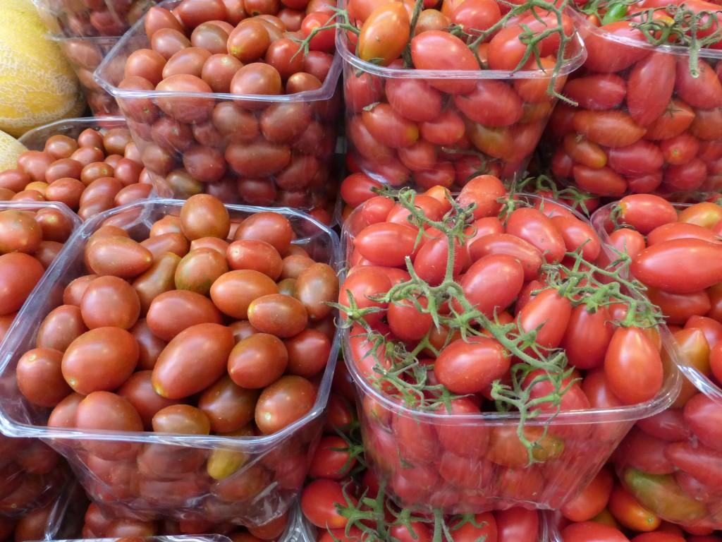 Variedades de tomate-cereja, uma invenção israelense