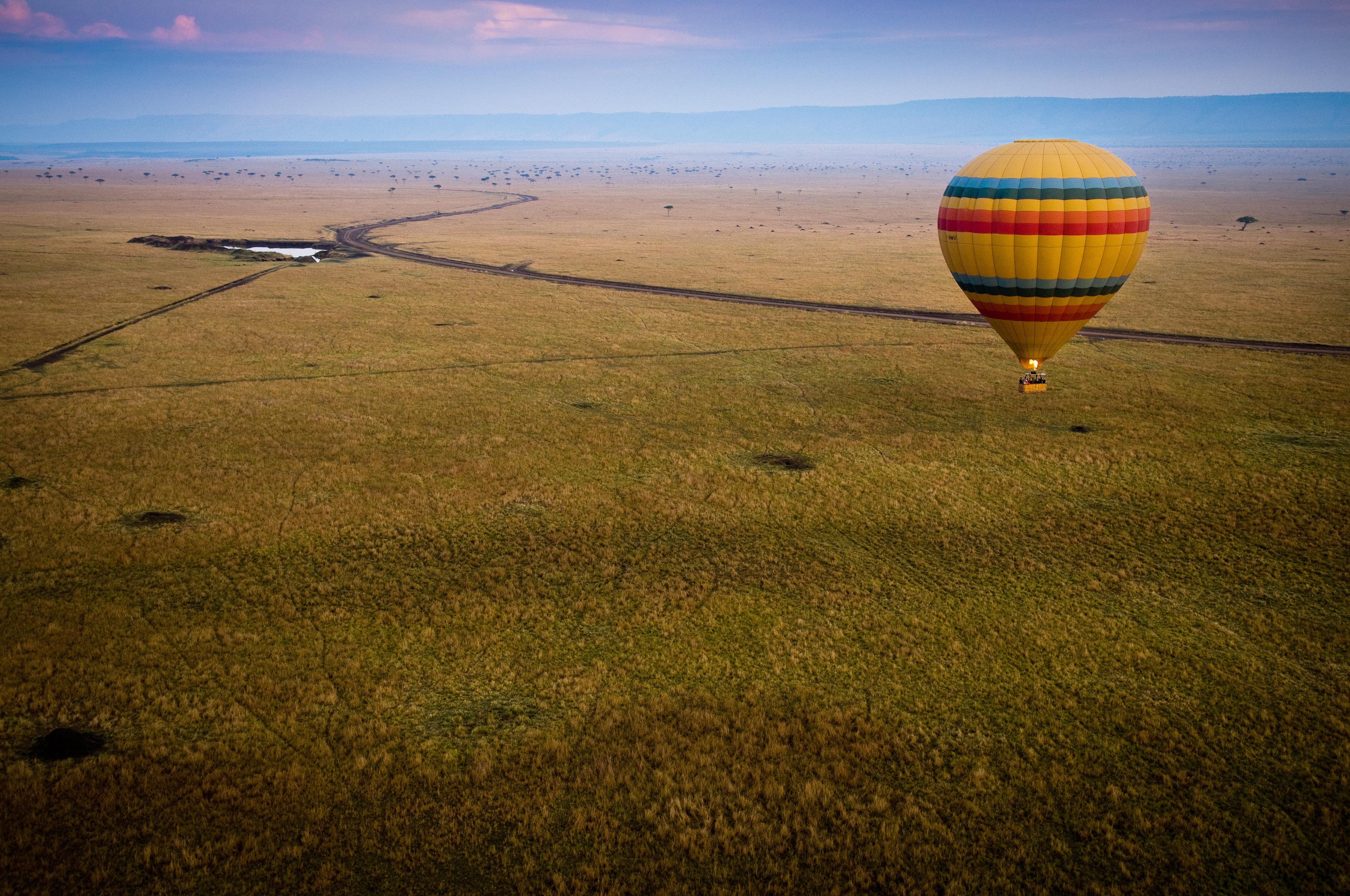 Safári de Balão no Quênia - (FOTO: TERESA PEREZ TOURS)
