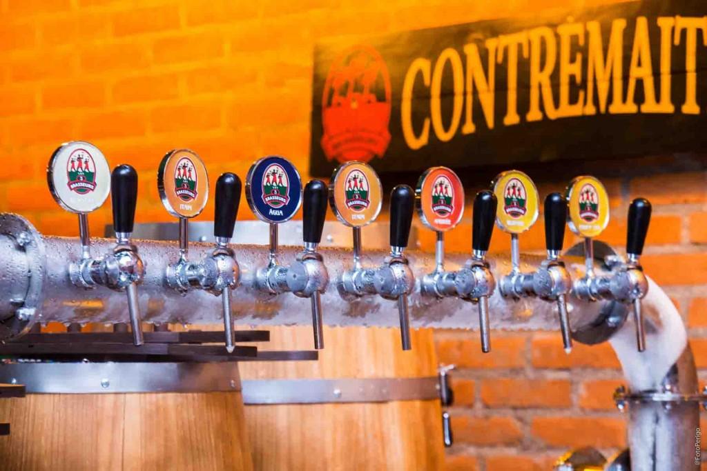 As cervejas fabricadas pela casa (foto divulgação)