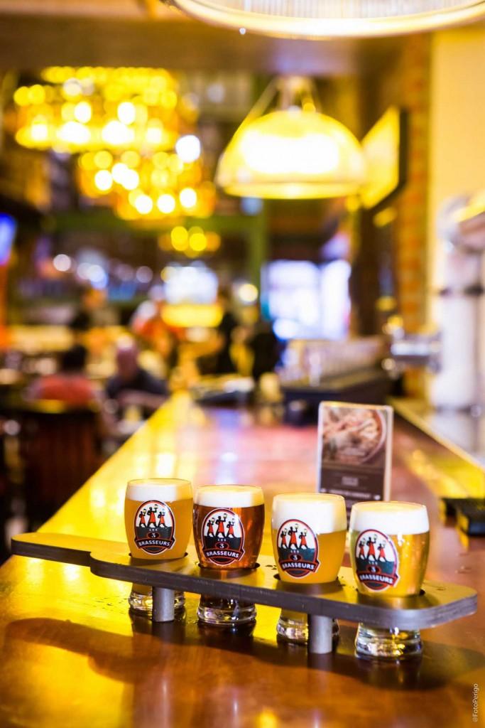 La Pallete com as cervejas especiais fabricadas no 3B (foto divulgação)