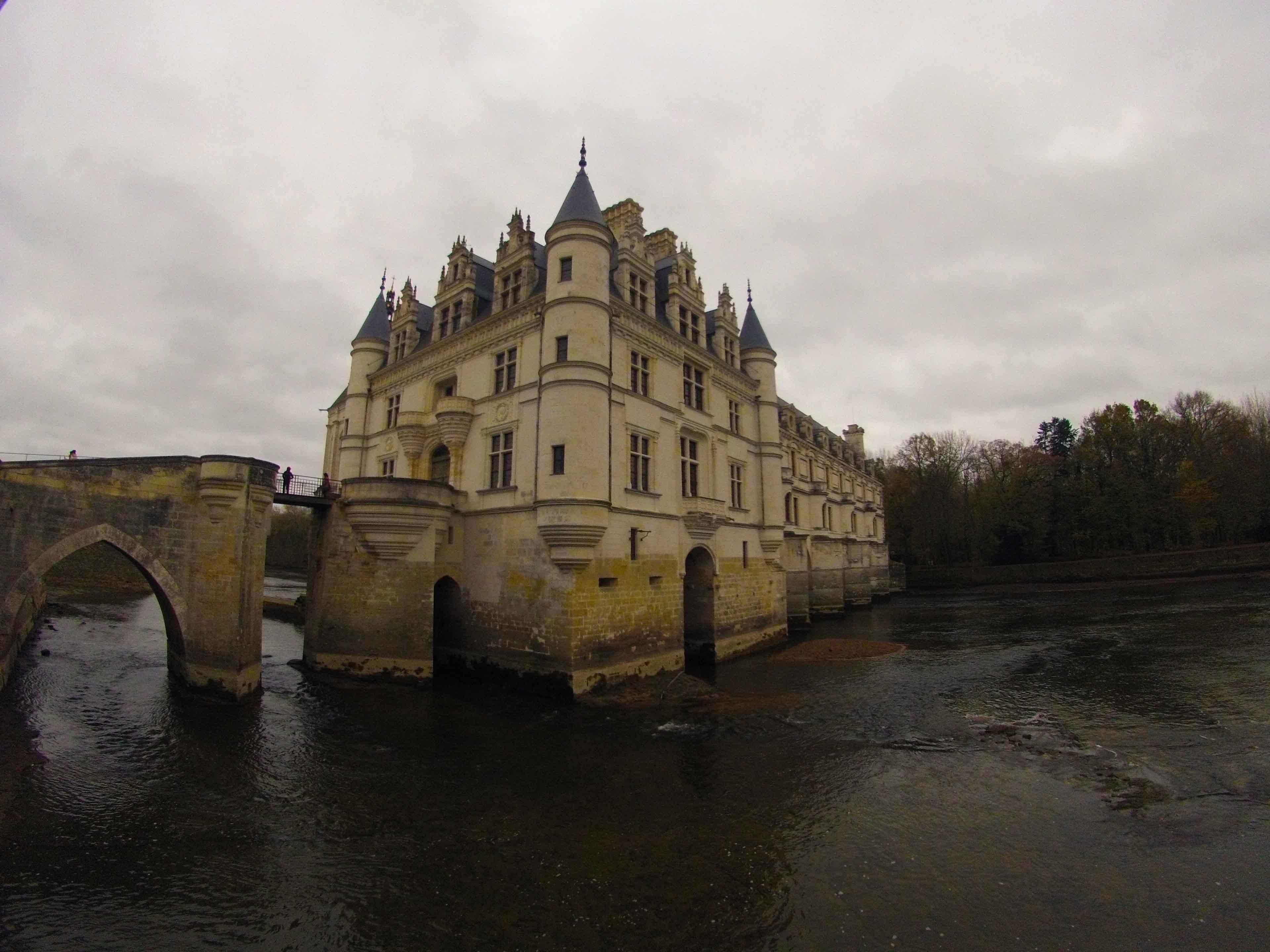 Chenonceu é o castelo dos contos de fadas
