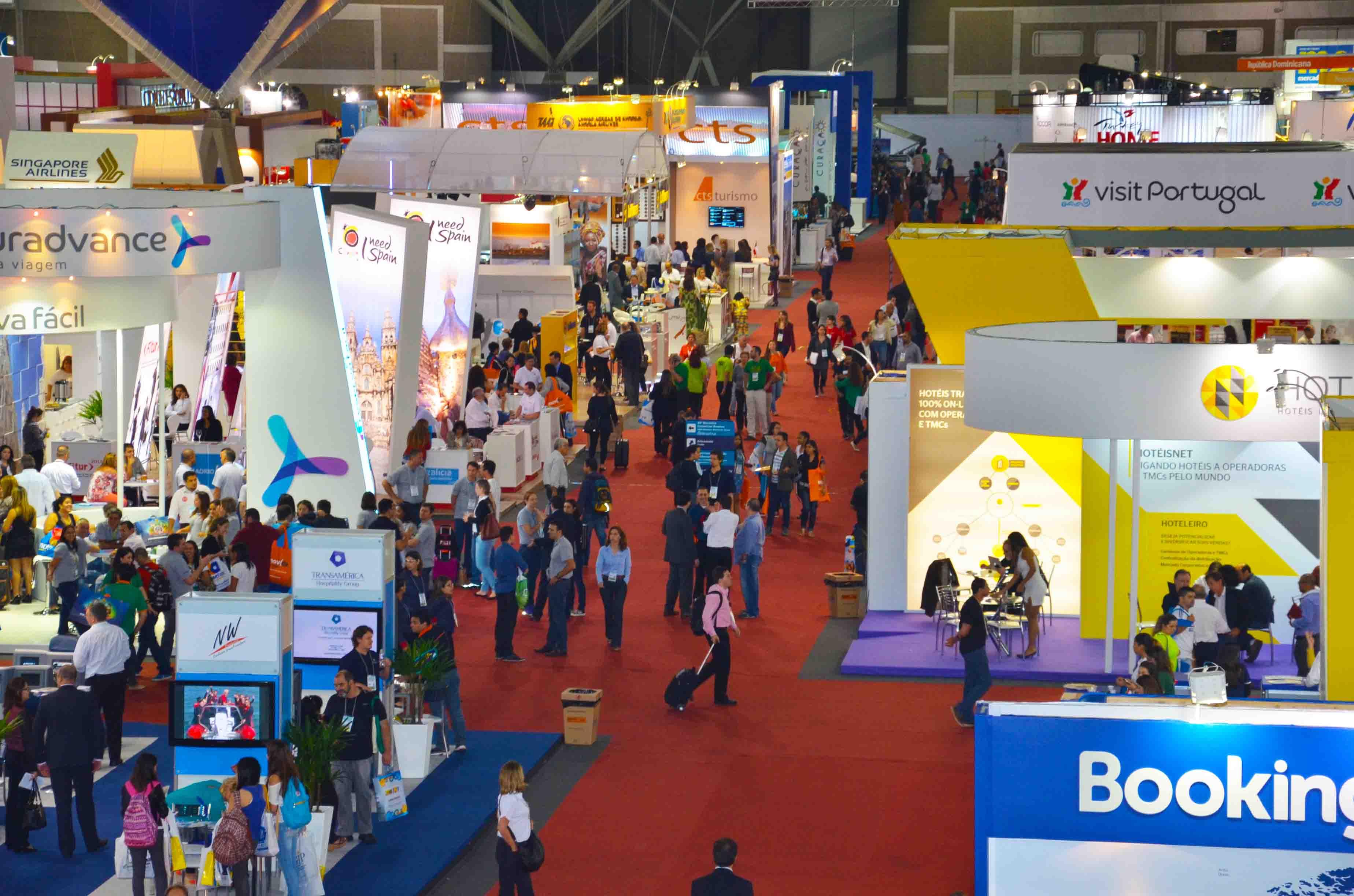 Corredores da Expo Internacional de Turismo
