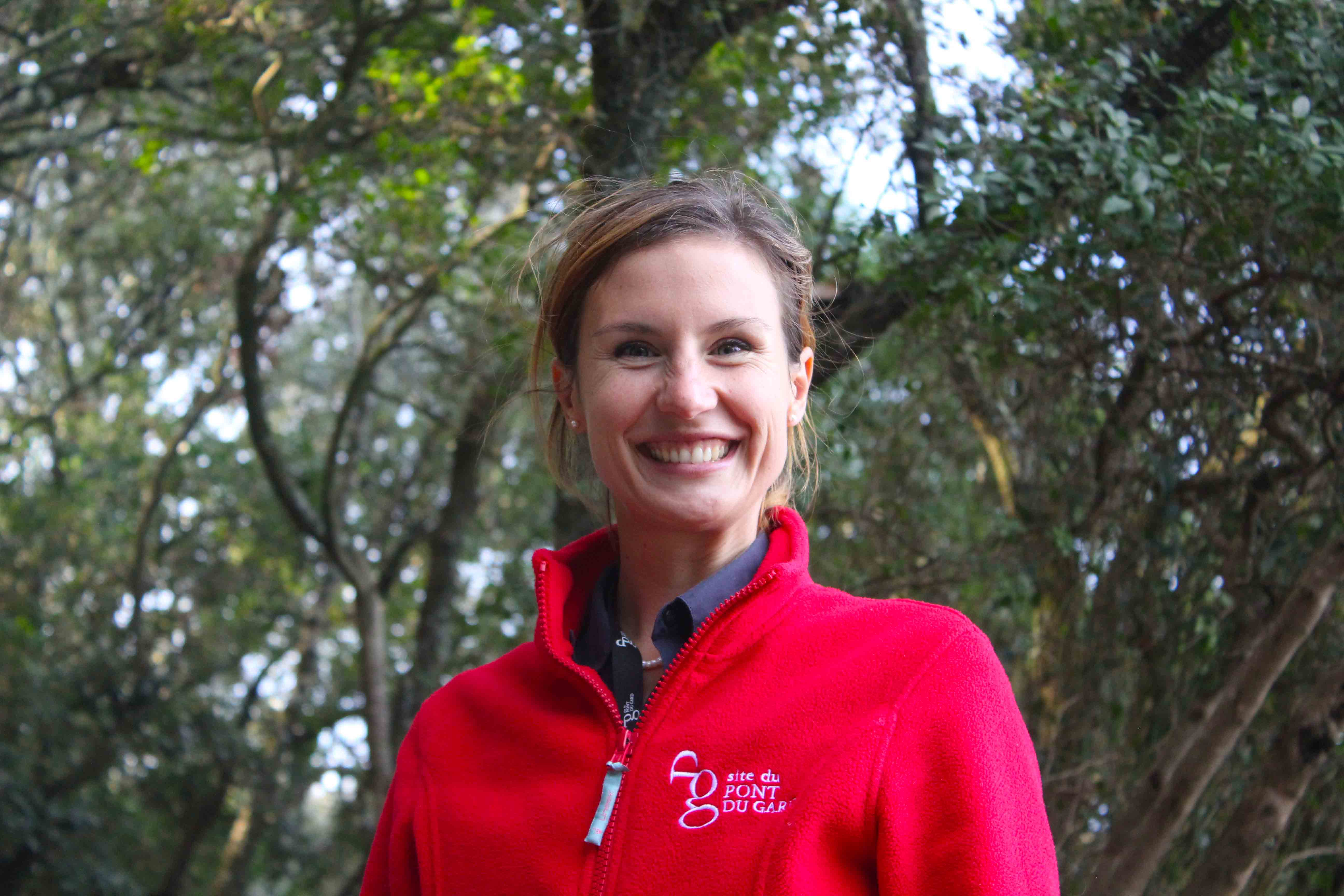 Matina Ghini, guia de Turismo do Pont Du Gard