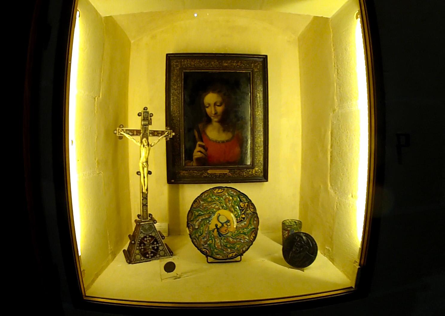 O Château de Clos Lucé é cheio de obras de Da Vinci