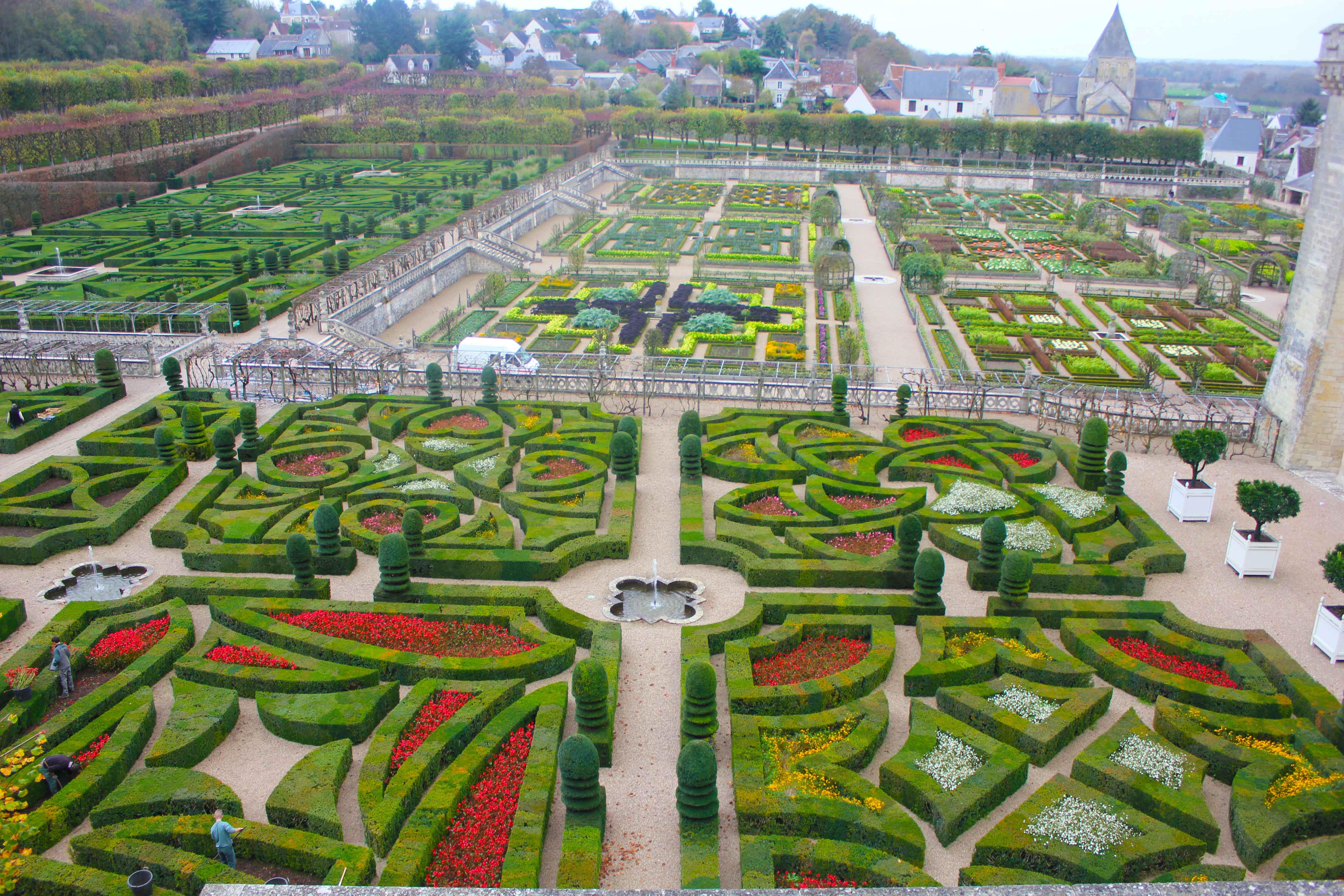 Os jardins renascentistas do Villandry