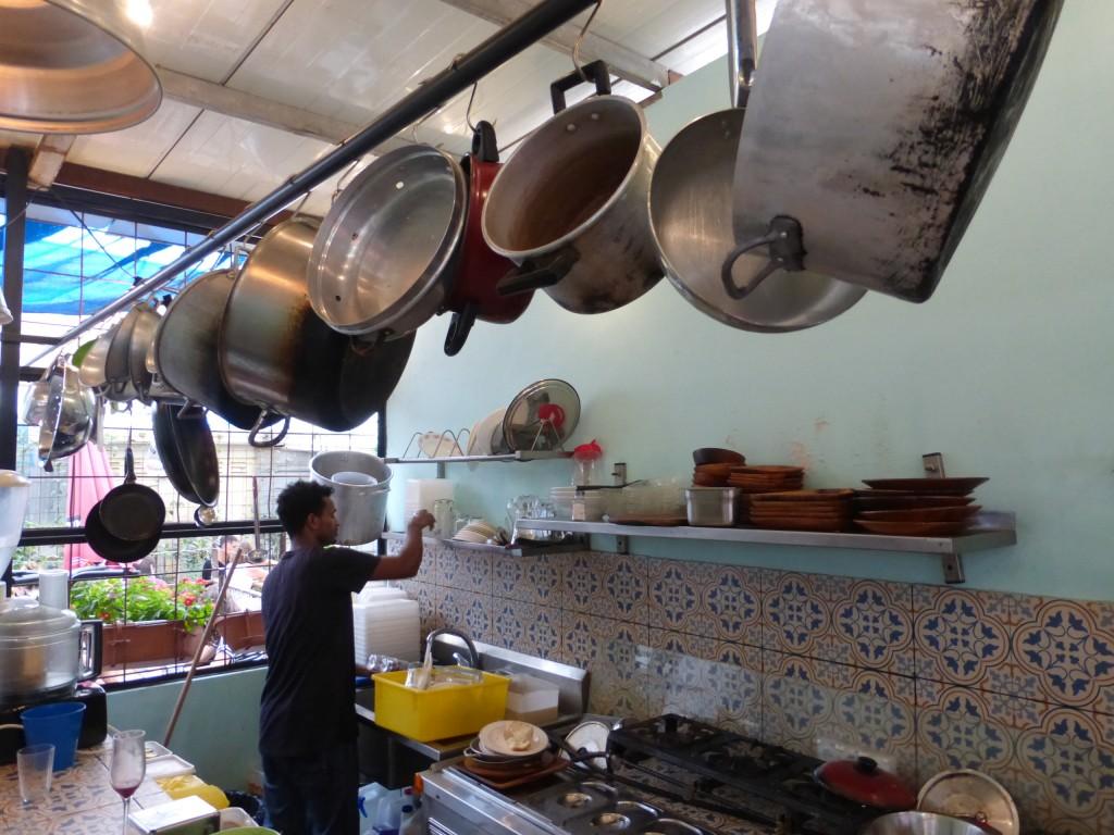 Outra cena da cozinha da casa