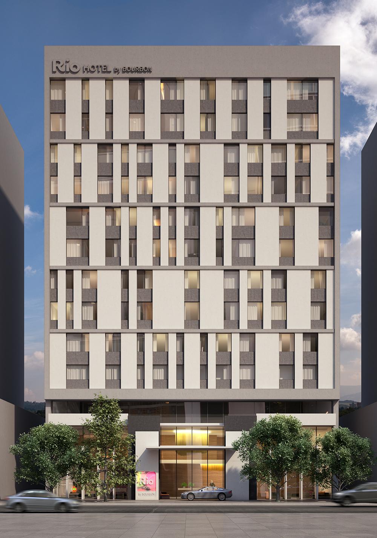 Fachada do Rio Hotel by Bourbon Ciudad del Este, no Paraguai - (Foto: Divulgação)