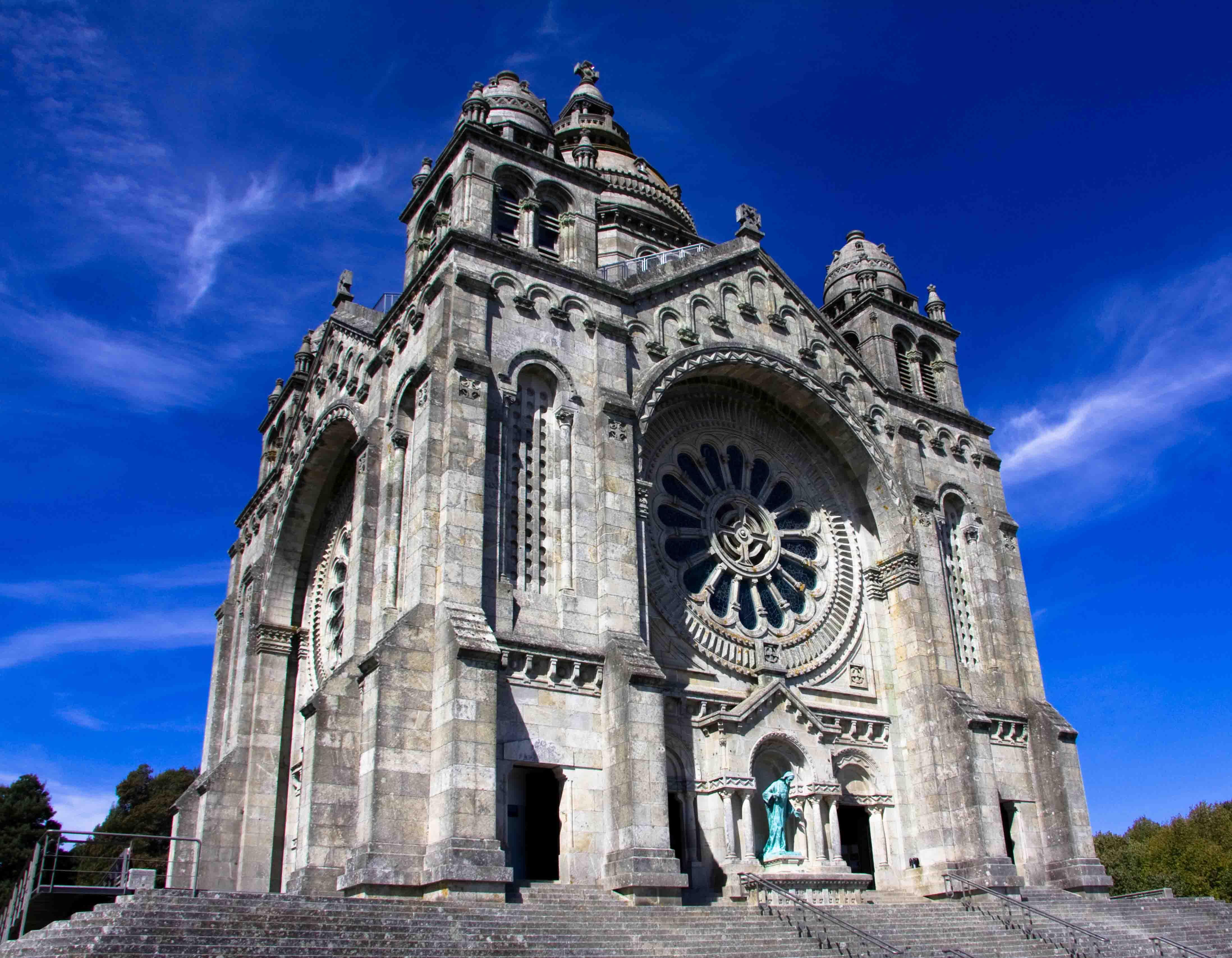 Basílica se Santa Luzia, em Viana do Castelo - (Foto: Associação de Turismo do Porto e Norte)
