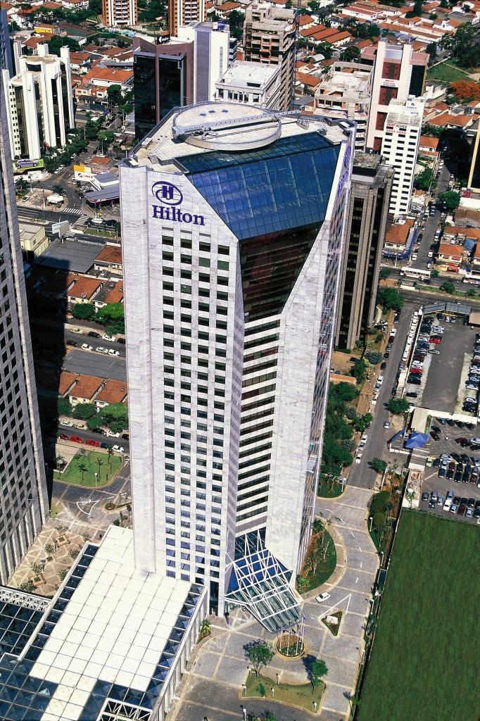 Fachada do Hilton São Paulo Morumbi - (Fotos: Divulgação)