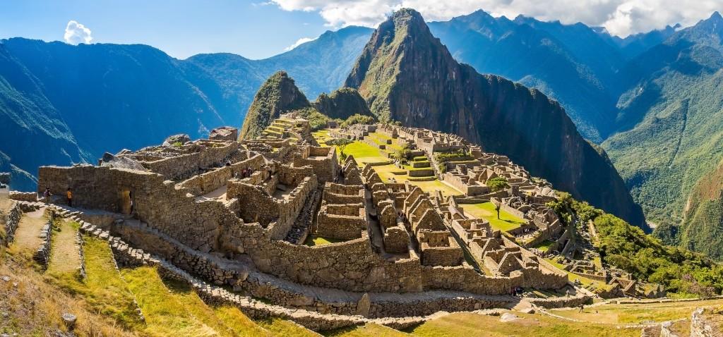 A foto clássica das ruínas incas