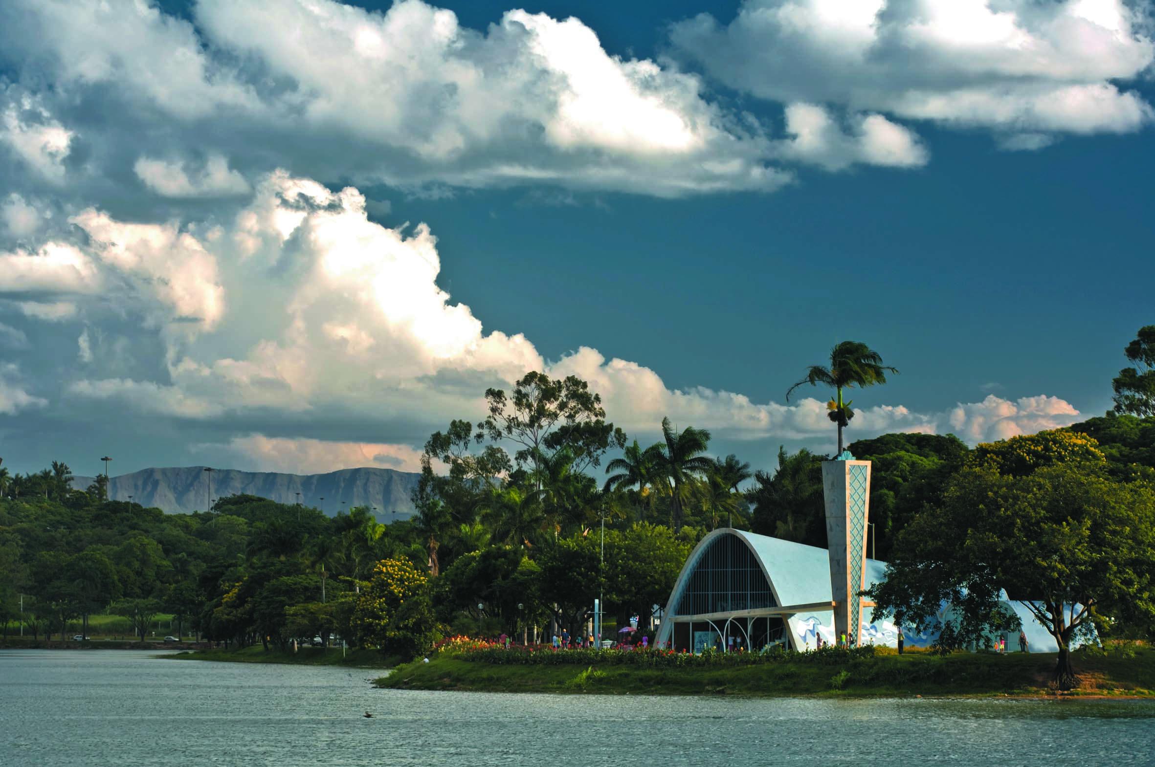 Vista da Pampulha, em BH - (Foto: Marcelo Rosa)