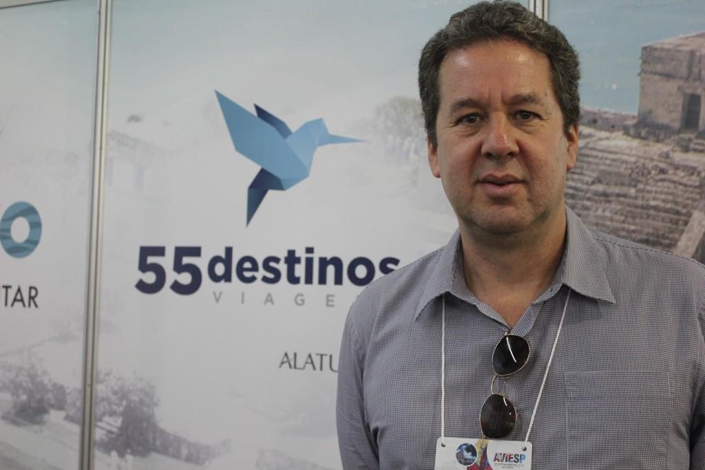 Roberto Sanovicz, diretor da 55 Destinos