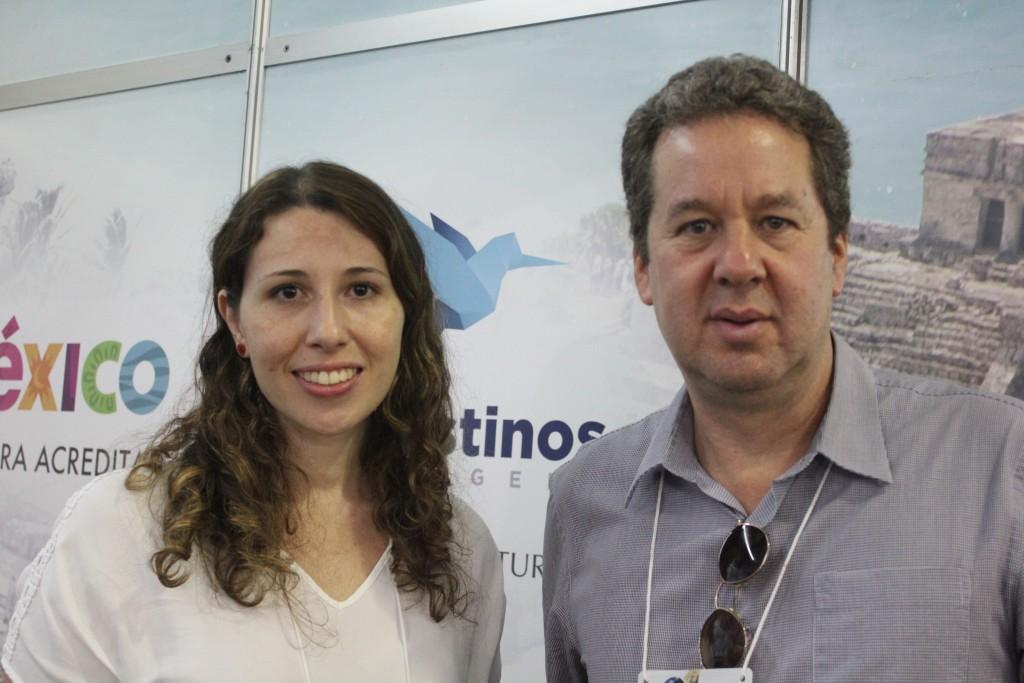 Fernanda Almeida e Roberto Sanovicz, da 55 Destinos