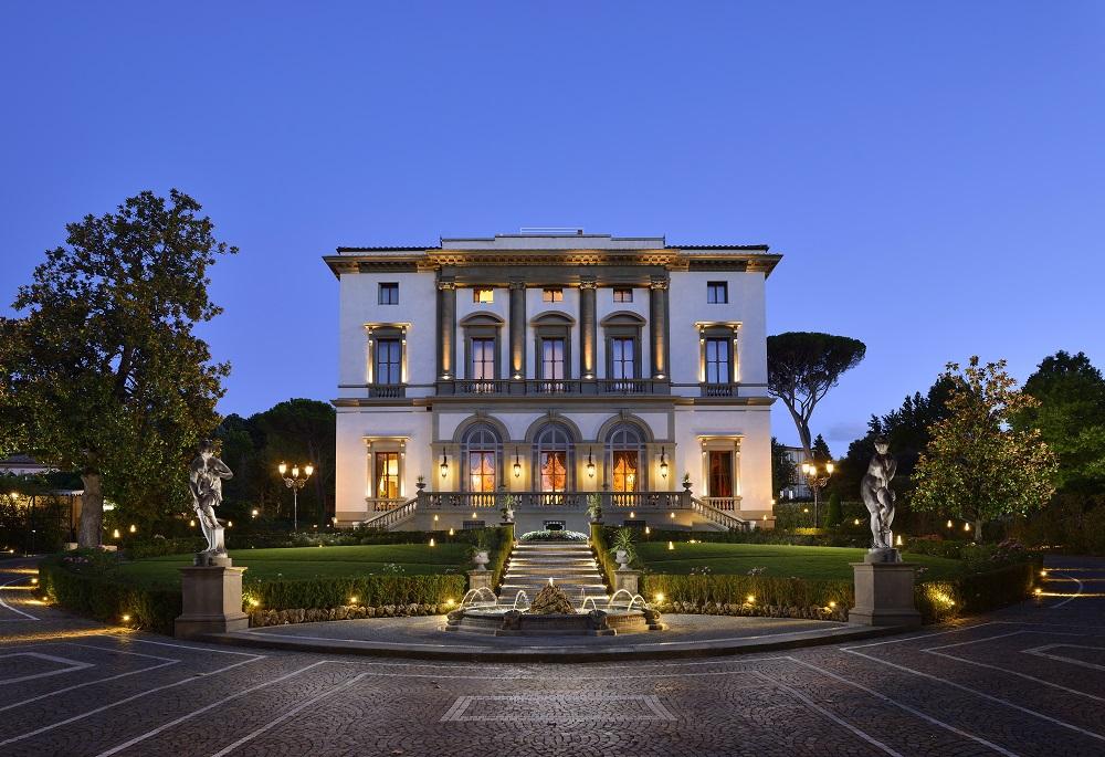 Fachada do Villa Cora
