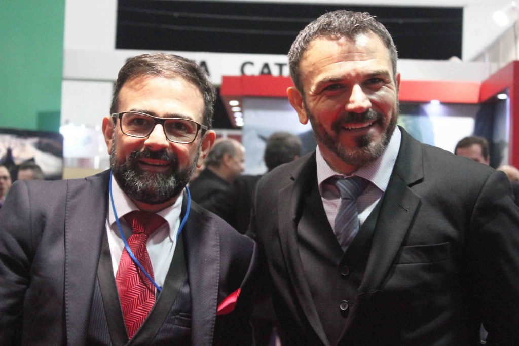 Geninho Góes e Jair Pasquini, da BNT Mercosul