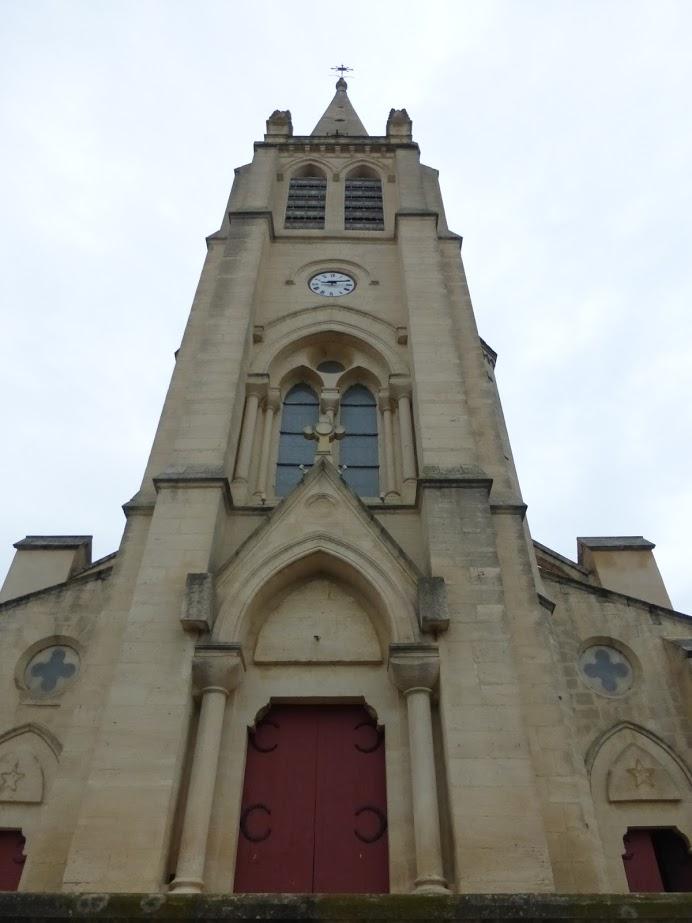 A nova igreja de Saint Etienne, do século 19