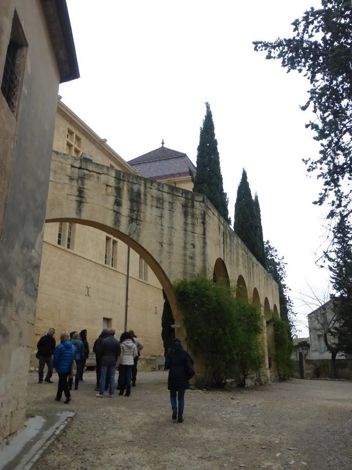 Parte final do aqueduto, quando chega ao castelo de Castries