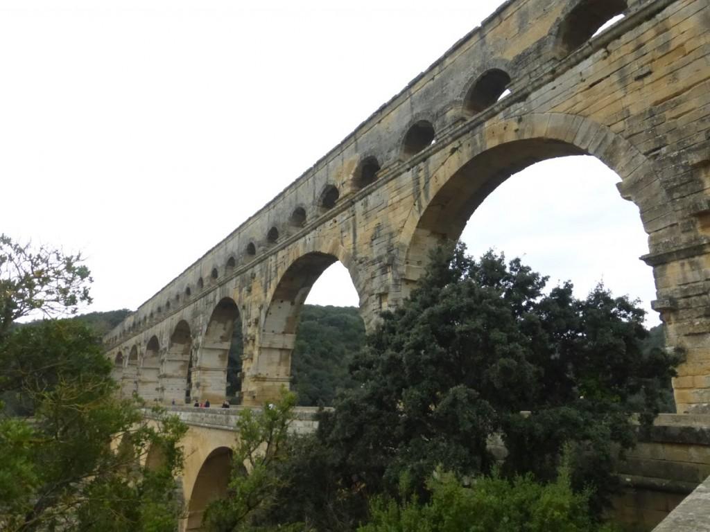 Vista da Pont du Gard