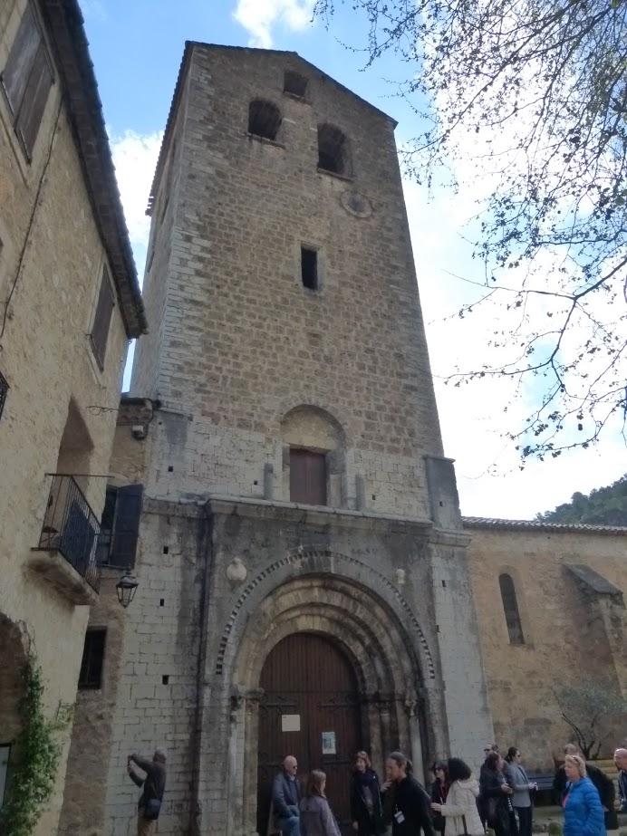 A torre da igreja