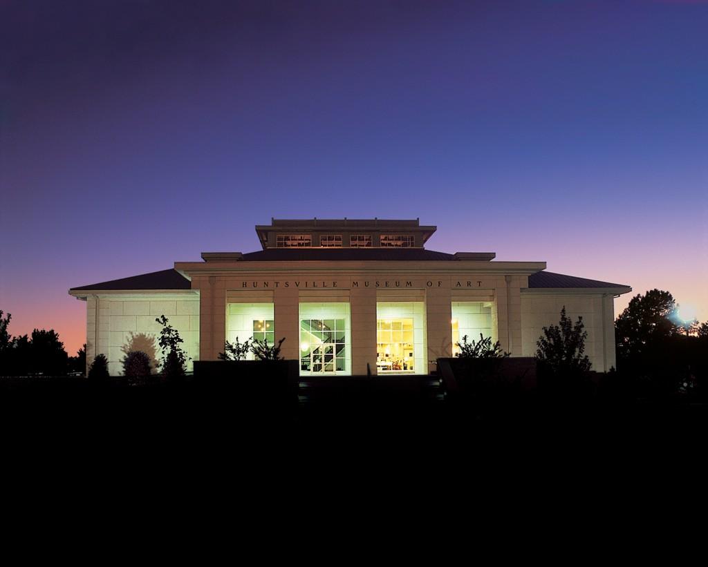 Alabama Art Museum_night