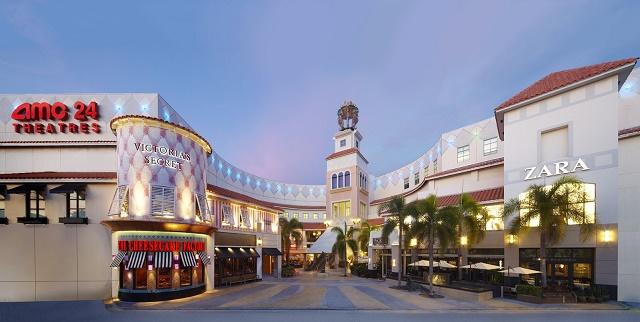 Imagem do Aventura Mall, em Orlando