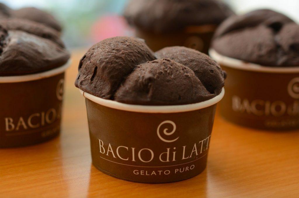 Sorvete da Bacio di Latte (foto divulgação da empresa)